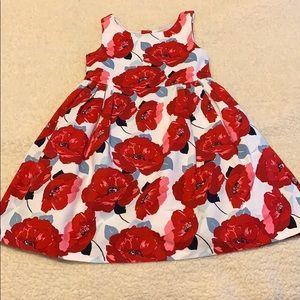 Floral print Janie and jack size 4 dress